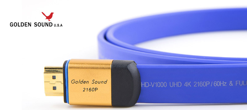 Golden Sound USA 4K HDMI Cable | Actsessory Shoppe