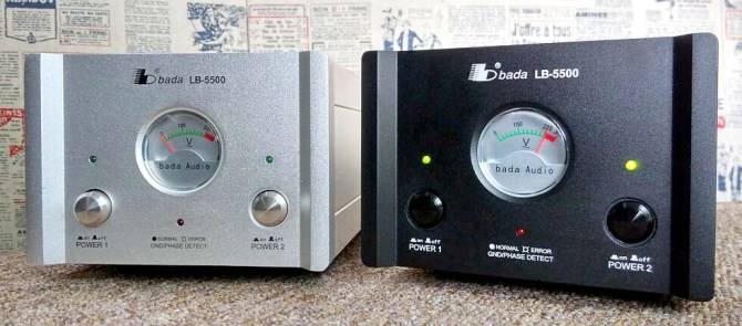 NEW Facelift -Bada LB-5500 Top Model HiFI/AV Power Plant, 1-1 Exchange Warr. NOW with MK Plug Top! New5
