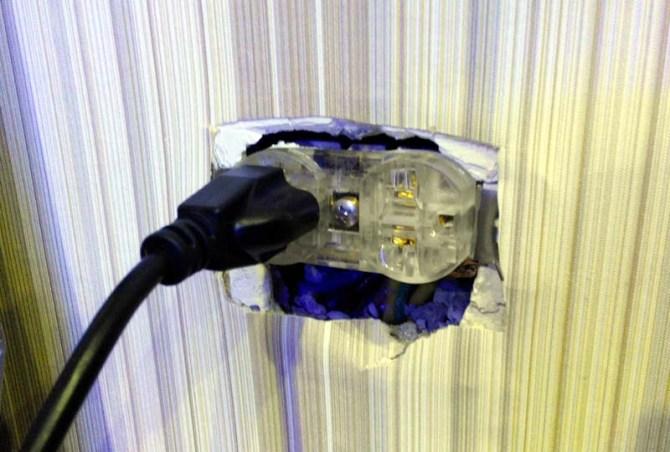 Hi-End high performance US duplex receptacle Iec6