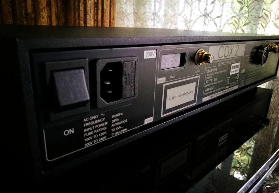 NAIM Audio system (Display Set) CDX2, HiLine, Siltech Cdx2c
