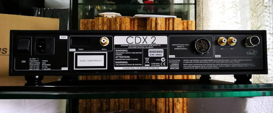 NAIM Audio system (Display Set) CDX2, HiLine, Siltech Cdx2e