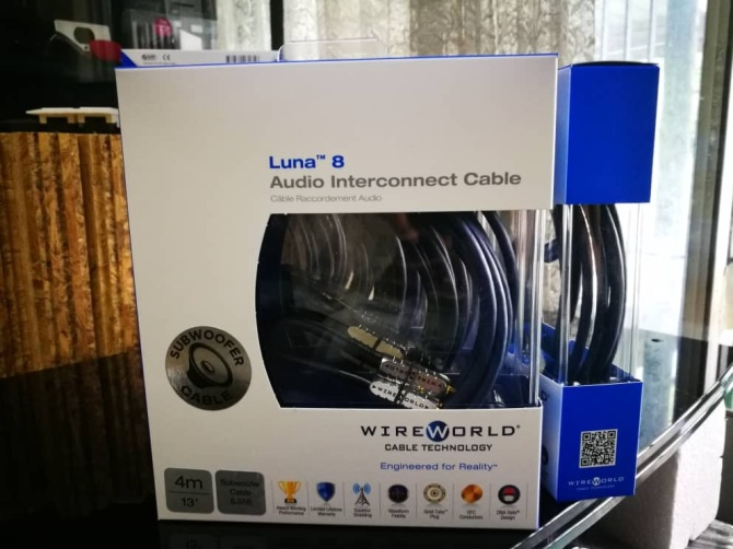 4.0M WIREWORLD Solstice 7 Mono Subwoofer Cable