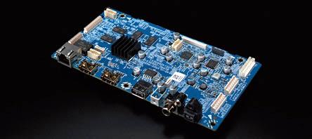 Pioneer UDP-LX500 4K Universal Disc Player  Udp-lx500-circut