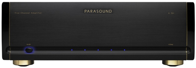 Parasound Halo A52+ Five-Channel Power Amplifier A52b