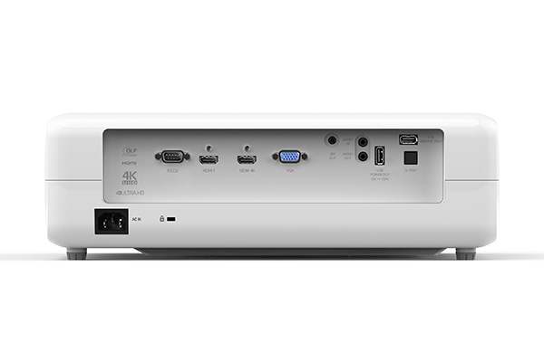 Optoma UHD50 4K Ultra HD Home Theater Projector Uhd50_back_gallery