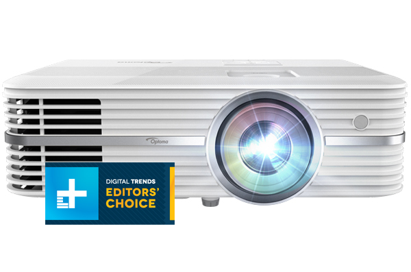 Optoma UHD50 4K Ultra HD Home Theater Projector Uhd50_front_flare_digtrendsaward