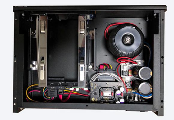 IPUK HDD8580 USB3.0 Audiophile Videophile Linear Power SATA Harddisk Enclosure  8580-femto
