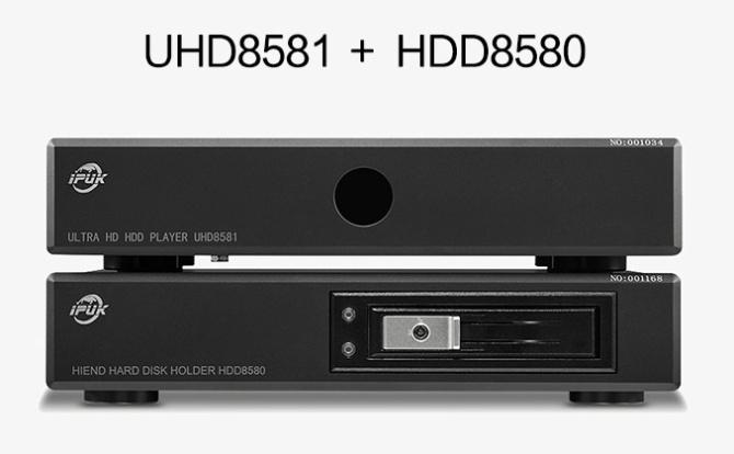 IPUK HDD8580 USB3.0 Audiophile Videophile Linear Power SATA Harddisk Enclosure  8580a