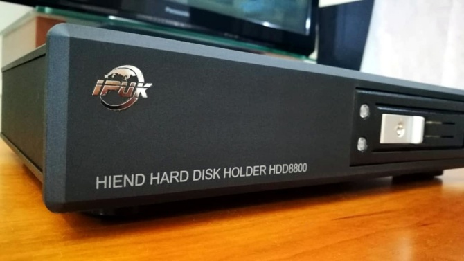 IPUK HDD8580 USB3.0 Audiophile Videophile Linear Power SATA Harddisk Enclosure  8580d