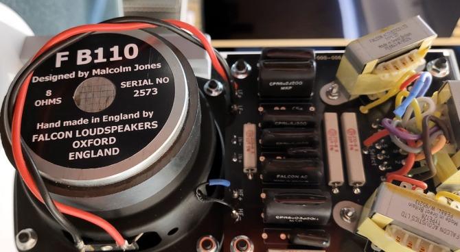 Falcon Acoustics LS3/5A BBC, Gold Badge Fa-ls35af