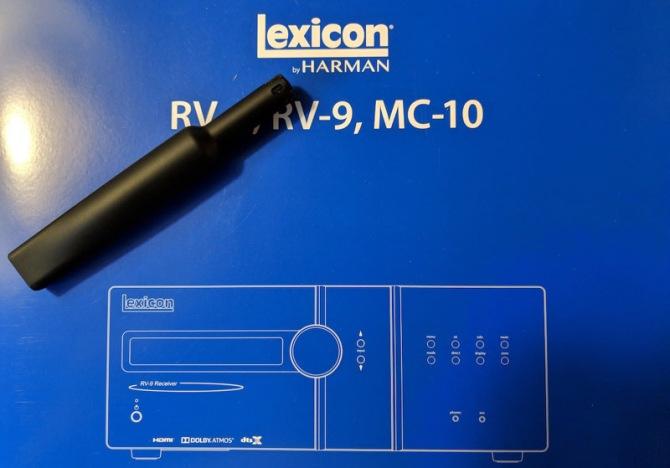 Lexicon MC-10 Immersive Surround Sound AV Processor 11.2 Pre outs, Dirac Live, 5 Years Warranty Lexicon-mc10-manual-mic