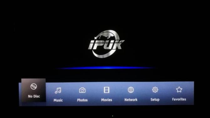 IPUK UHD8592 4K Ultra HD Bluray Universal Player 8592g