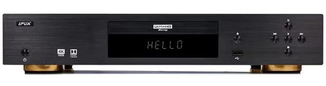 IPUK UHD8592 4K Ultra HD Bluray Universal Player Ipuk-8592b