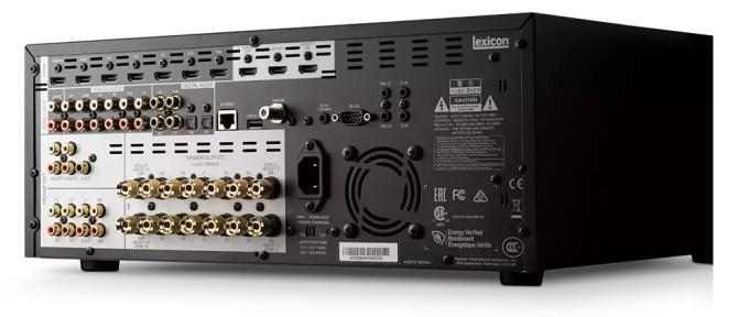 Lexicon RV-9 Immersive Surround Sound AV Receiver, 4K, Class G Rv92