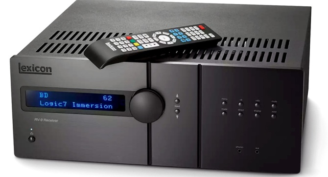 Lexicon RV-9 Immersive Surround Sound AV Receiver, 4K, Class G Rv93