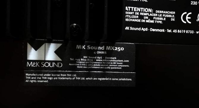 M&K MX250 THX Active Subwoofer, twin 12″, 250W Class AB Mk-johnson7
