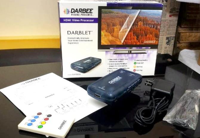 Darbee Darblet DVP-5000 Image/Video processor Darblet